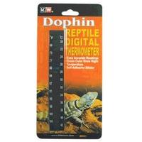 KW Dophin digitális hőmérő terráriumba