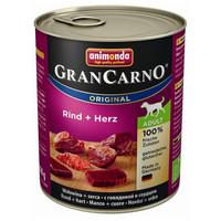 Animonda GranCarno Adult marhahúsos és szíves konzerv