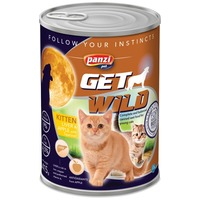 Panzi GetWild Cat Kitten Liver & Apple konzerv