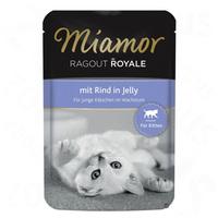 Miamor Cat Ragout Royale Kitten - Alutasakos eledel marhahússal
