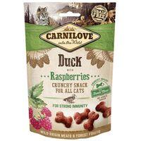 CarniLove Cat Crunchy Snack kacsával és málnával | Ízletes jutalomfalat macskáknak