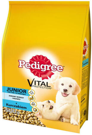 Pedigree Junior Medium baromfihúsos száraztáp