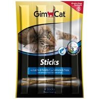 GimCat Sticks lazacos és pisztrángos rudak cicáknak