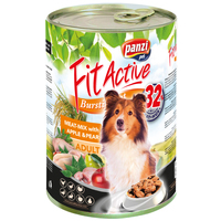 FitActive Dog Meat-Mix with Apple & Pear konzerv