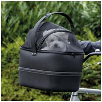 Trixie szállítótáskaként is használható hátsó biciklikosár kutyáknak
