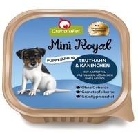 GranataPet Mini Royal Puppy/Junior Truthahn & Kaninchen