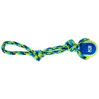 K9 Fitness by Zeus teniszlabda kötéllel kutyáknak