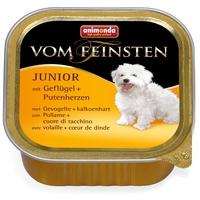 Animonda Vom Feinsten Junior – Szárnyashúsos és pulykaszíves kutyaeledel