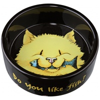 Etető- és itatótálak macskáknak