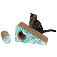 Trixie türkiz kaparó rámpa macskáknak – Macskamentával