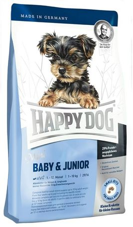 Happy Dog Mini Baby & Junior | Száraztáp kistestű kölyökkutyáknak
