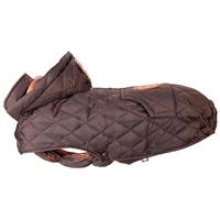 Trixie Cervino párnázott vízálló kutyakabát meleg béléssel, levehető kapucnival és zsebbel