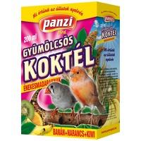 Panzi gyümölcskoktél énekesmadaraknak