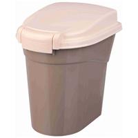 Trixie táptartó műanyag doboz barna színben