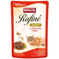 Animonda Rafine Soupé Adult – Pulyka- és borjúhús sajtos szószban