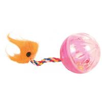 Trixie zörgő műanyag labda farokkal cicáknak