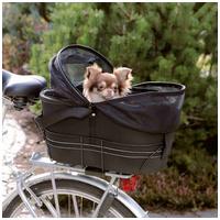 Trixie szállítótáskaként is használható elülső biciklikosár kutyáknak