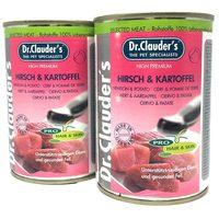 Dr.Clauder's Dog Selected Meat szarvashúsos és burgonyás konzerv