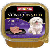 Animonda Vom Feinsten Adult– Bárányhúsos kutyaeledel gabonaszemekkel