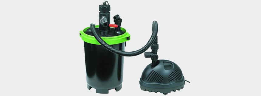 Nyomás alatti tószűrő pumpával