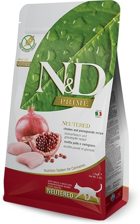 N&D Cat Adult Chicken & Pomegranate Neutered Grain Free