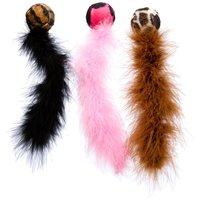 Kong Cat Wild Tails tollas labda