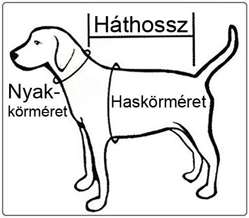 Kutyaruha méretezése