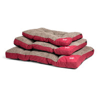 Agui Mountain kutyafekhely piros/bézs színben