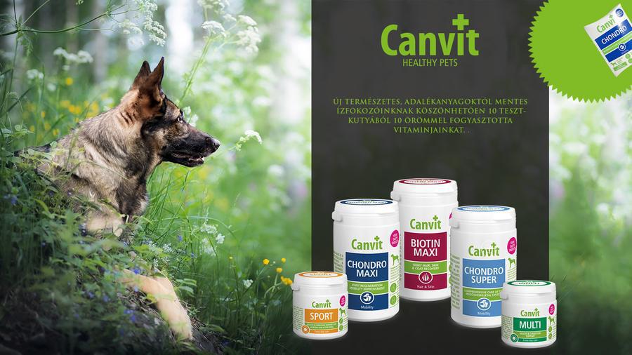 Canvit vitaminok és táplálékkiegészítők kutyáknak