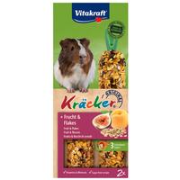 Vitakraft Kracker gyümölcsös és gabonapelyhes dupla rúd tengerimalacnak