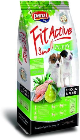 FitActive Puppy Small Chicken & Pears | Kutyatáp kistestű fajták kölykeinek | Csirkehússal és körtével