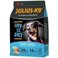 Julius-K9 Hypoallergenic Adult Fish & Rice | Halas és rizses kutyatáp