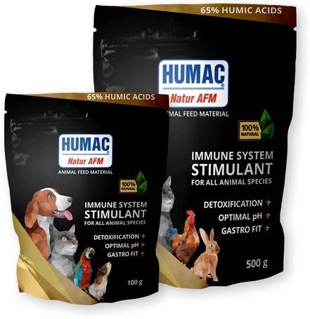 Humac Natur AFM immunerősítő táplálékkiegészítő aktivált huminsavval - minden háziállatnak
