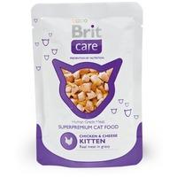Brit Care Kitten Chicken & Cheese alutasakos macskaeledel