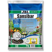JBL Sansibar River természetes akvárium talaj (durva szemű)