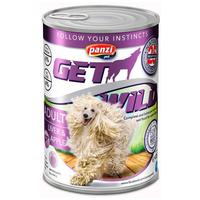 Panzi GetWild Dog Adult Liver & Apple konzerv