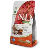 N&D Cat Grain Free Quinoa Skin & Coat Herring – Bőr- és szőrproblémákra | Szuperprémium macskaeledel