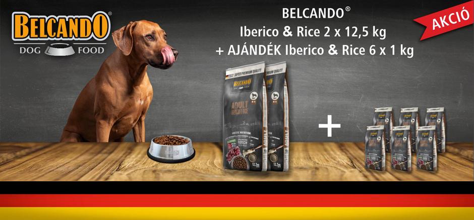 Belcando Iberico promóció az Okosgazdi webáruházban
