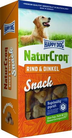 happy dog naturcroq rind dinkel snack ropog s kutyakeksz. Black Bedroom Furniture Sets. Home Design Ideas