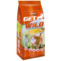 Panzi GetWild Adult Cat Fish & Lamb
