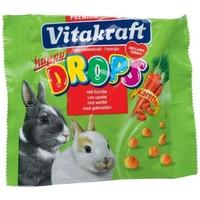 Vitakraft Happy Drops sárgarépás jutalomfalatkák nyulaknak