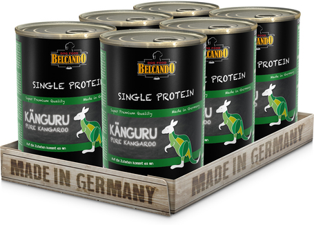 Belcando szín kenguruhúsos konzerv (Single Protein)