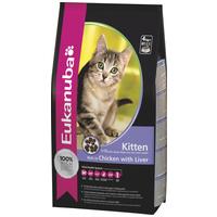 Eukanuba Cat Kitten Healthy Start - Száraztáp kiscicáknak - Az egészséges fejlődés elősegítéséért