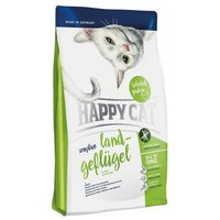 Happy Cat Sensitive Land-Geflügel - Baromfihús táp gabonamentes receptúrával érzékeny emésztésű macskáknak