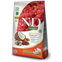 N&D Dog Grain Free Quinoa Skin & Coat Herring – Bőr- és szőrproblémákra | Szuperprémium kutyaeledel