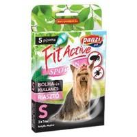 FitActive kullancs- és bolhariasztó spot on kutyáknak (S; Kistestű kutyáknak; 5 db pipetta)