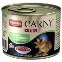 Animonda Carny Kitten marha-, csirke- és nyúlhúsos konzerv