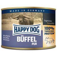 Happy Dog Büffel Pur - Tiszta bivalyhúsos konzerv | Egyetlen fehérjeforrás