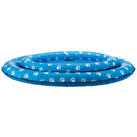 Trixie felfújható kék gumicsónak kutyák részére