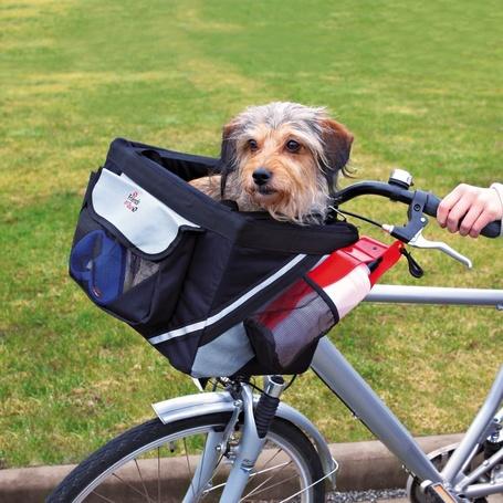Trixie kisállatszállító kosár biciklire előre